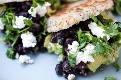 Rich In Protein, Ripe Avocado, Fresh Coriander, Freshly Baked, Black Beans, Healthy Fats, Tofu, Plant Based, Veggies