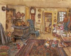 I adore the work of Tasha Tudor! She was a children's book illustrator, an independent thinker and an artist of life.