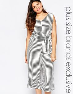 af5d019bfa64 ALICE   YOU Alice   You Fine Stripe Jumpsuit - Plus Size Plus Size Clothing  Sale
