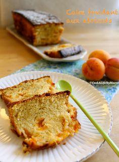 Cake fondant aux abricots { amande & fleur d'oranger } / Melting apricot cake {almond & orange blossom }