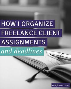 Tired of being overwhelmed with freelance client projects and deadlines? Here's an insider's look at my business systems for staying on top of all my client requests and assignments. Plus advice from 5 other freelancers!