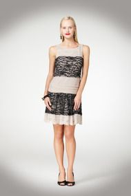 Mesh and Lace Dress - Just In at Maggy London