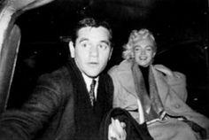 """Marilyn Monroe and Milton Greene, 1955. """