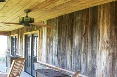 Gray Barn Wood Cabinets | ranch garage with barn wood barn wood siding antique stable