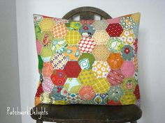 love this hexie pillow!