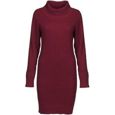 Women's Dubarry Renvyle Sweater Dress ($108) ❤ liked on Polyvore featuring dresses, long sleeve day dresses, purple dress, sweater dress, cable knit sweater dress and longsleeve dress