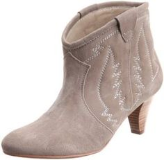 Short western boots / Shopstyle (ショップスタイル): javari.jp  NADIN (ナディン)スエードパンプス