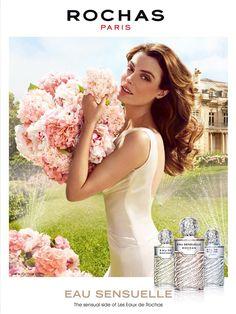 Reklama perfum Rochas eau Sensuelle