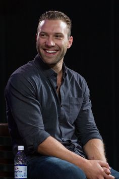 Jai Courtney at an event for Divergent (2014)