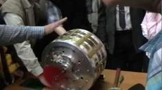 Magnet Motor Free Energy Test - YouTube