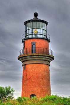 Gay Head Light island of Martha's Vineyard located on the island's western-most point off of Lighthouse Road in Aquinnah Cape Cod Massachusetts US photo Lighthouse Lighting, Lighthouse Pictures, Beacon Of Light, Nantucket, Belle Photo, Cape Cod, New England, Beautiful Places, Around The Worlds