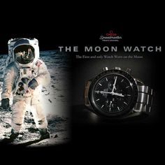 Omega Speedmaster Professional Watches - The Moon Watch of Neil Armstrong George Clooney, Programa Apollo, Omega Speedmaster Moonwatch, Moon Watch, Speedmaster Professional, Watch Ad, Expensive Watches, Neil Armstrong, Luxury Watches For Men