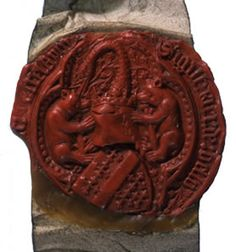 Seal of Richard Beauchamp, 13th Earl of Warwick (E 329/422). Pupils can see some of the amazing ancient wax seals in The National Archives collection when taking part in our workshops at Kew.