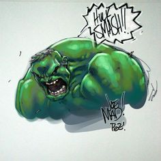 Hulk by Joe Madureira