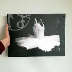 Francuski balet - fotografia autorska na canvas