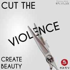 Stop the violence ✂️💕#KamisoriShears #scissors #shears #ighair #Hairstylist #hairdresser #Hairstylistlife #igsalon #salon #salonlife #barbershop #barber4life #masterbarber #barberlife #barber #modernsalon #americansalon #behindthechair #hairbrained #shearporn #instahair #pmts #hairdressermemes #dragon #samurai #madeinjapan #qoutesoftheday #JapaneseScissors #dragon #Kamisori