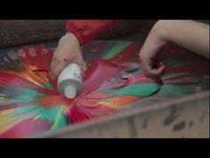 CONTEMPORARY MODERN SPIN ART BY JESSICA WILLOWS - YouTube