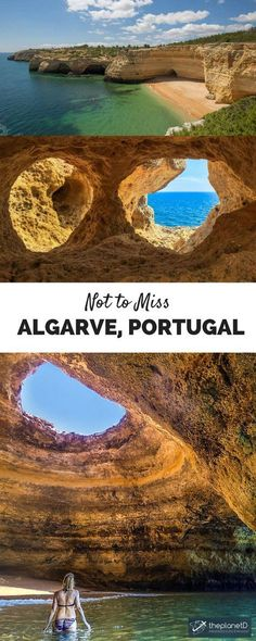 Weekend Break Algarve - How to Make the Most of 3 Days in the Algarve and its spectacular coast in Portugal, including visiting one of the most beautiful sea caves in the Mediterranean!   The Planet D Adventure Travel Blog