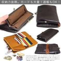 がま口財布 長財布 本革財布 姫路レザー leather 日本製 財布 さ :art-aw-04ga-svxr:おさいふやさん - 通販 - Yahoo!ショッピング