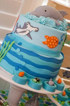 Great Gatherings Ocean Cake