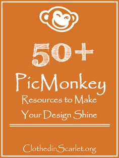 Do you use Picmonkey? oh...I love it!! When I was researching for PicMonkey tutorials online, I found that there were several, but they were hard to find.  I decided to curate a big list of PicMonkey tutorials to help you master PicMonkey for your graphic design needs. So here it is....50+ PicMonkey Resources to Make Your Designs Shine!! #PicMonkey Tips