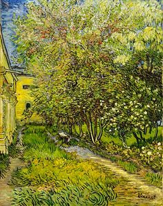 Vincent Van Gogh - V.van Gogh, Garten Hospital St.Rémy