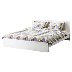Ikea Malm White Queen Size Bed Frame Height Adjustable - http://www.furniturendecor.com/ikea-malm-white-queen-size-bed-frame-height-adjustable/