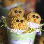 Krispie Treat Chicks  |  Cookies & Cups