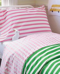 HannaSoft™ Swedish Stripe Duvet Cover by #hannahome | #sunnydaygiveaway