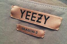 Clothing labels design - YEEZY Season 2 Pricing Information – Clothing labels design Kanye West Clothing Line, Clothing Line Logos, Clothing Labels, Fashion Tag, Fashion Labels, Fashion Types, Urban Fashion, Tag Design, Label Design
