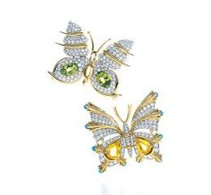 cartier botanical and insect brooches | Tiffany Jewelry Brooch, Pin, Cufflink Review: Gold, Silver, Gemstones