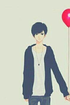 Balon Boy :v Love Couple Wallpaper, Best Friend Wallpaper, Love Wallpaper, Cute Couple Art, Anime Love Couple, Cute Anime Couples, Anime Couples Drawings, Couple Drawings, Facebook Featured Photos