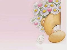 Bear With Love Animated By Heather Gill Friends Gif, Cards For Friends, Teddy Bear Drawing, Teddy Beer, Teddy Bear Images, Bear Gif, Bear Party, Cute Teddy Bears, Friends Forever