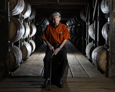 Master Distiller Elmer T. Lee, of Buffalo Trace  photographed on Tuesday  May…