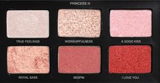 "corellian-smuggler: """"Princess Leia inspired eyeshadow palettes xx "" "" I need this in my life asap."