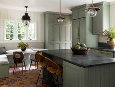 Home Interior Salas .Home Interior Salas Beautiful Kitchens, Beautiful Kitchen Designs, Cottage Style, Kitchen Decor, Home Remodeling, Green Kitchen, House Interior, Kitchen Design, English Cottage Style