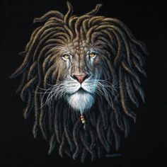 Rasta lion face sketch - photo#24