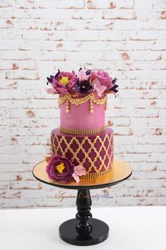 Moroccan in Lilac by Signature Cake By Shweta