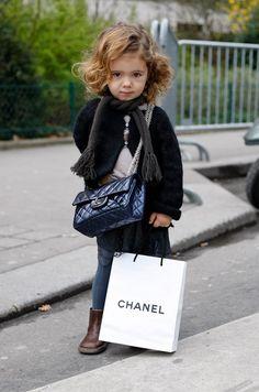 Fashion kids Chanel style