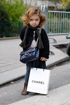 Fashion kids Chanel style