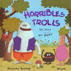 Un album à toucher et à sentir pour découvrir le monde des trolls : leurs yeux globuleux, leur peau rugueuse, leurs pieds râpeux, leurs cheveux ébouriffés...