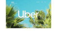 Uber 2018 Brand Case Study - Awwwards Site Of The Day - Awwwards Case Study Design, Cross Art, Creative Portfolio, Creativity And Innovation, Website Design Inspiration, Design Awards, Uber, Web Development, Cool Designs