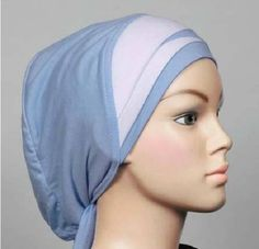 Cotton Envelope Pleat Bonnet Chemo Cap Hijab Hejab Inner Underscarf Muslimah Eid. Starting at $8
