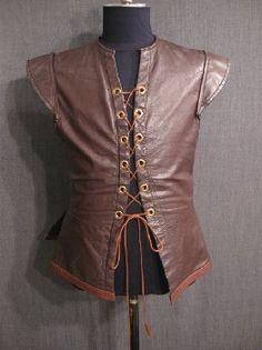 renaissance, elizabethan, doublet, ren, leather