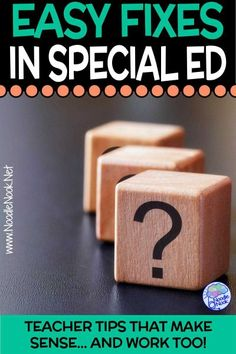 You can fix these instructional mistakes in special ed- here's what to do when paras and teachers make mistakes. Special Education Classroom, A Classroom, School Days, School Stuff, Learned Helplessness, Multiple Disabilities, Instructional Coaching, Folder Games, Free Activities