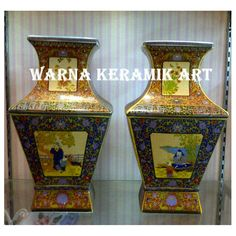 GUCI PERSEGI COKLAT, Desain & Kerajinan Tangan, Karya Seni di Carousell Vase, Home Decor, Moonlight, Decoration Home, Room Decor, Jars, Vases, Interior Decorating, Jar