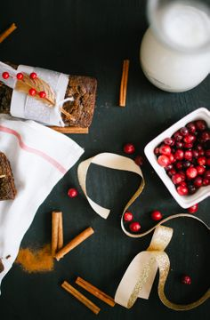 Chocolate Cranberry Spiced Bread | Rue
