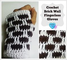 Bricks_wall_fingerless_gloves_2_-_free_pattern_There is also a free pattern for the boot cuffs in this great pattern!!