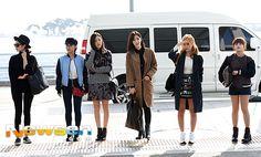 티아라 '출국 패션도 화보'