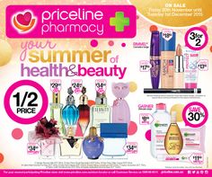 Priceline Catalogue 20 November - 1 December 2015 - http://olcatalogue.com/priceline/priceline-shopping-catalogue.html